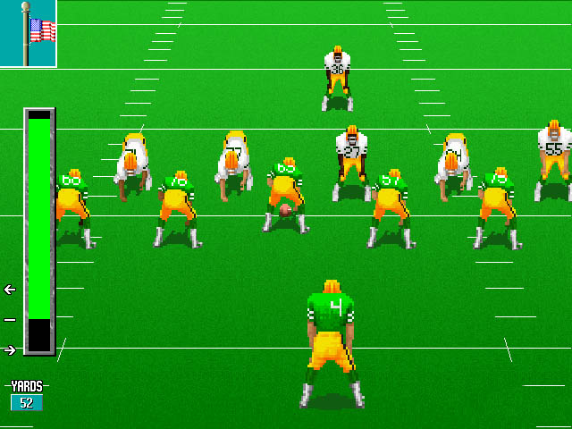 Unnecessary Roughness - Accolade - DOS, Windows