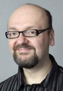 David Gaider, guionista principal de la serie Dragon Age.