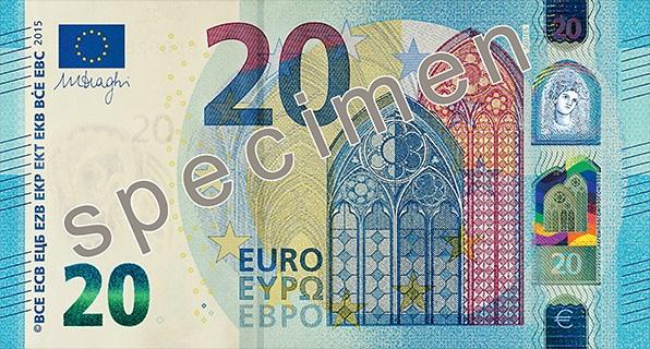 El Banco Central Europeo está utilizando Tetris para promocionar sus nuevos billetes.