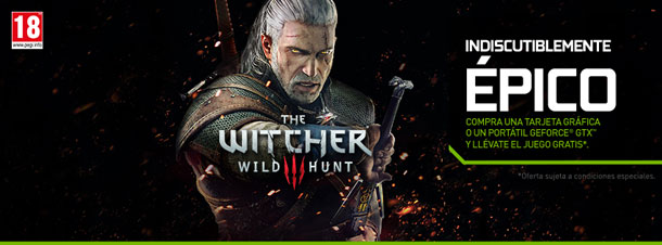 Nuevos bundles de NVIDIA, con The Witcher III de regalo