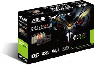 Asus Strix GTX 960 DirectCU II Edition - caja