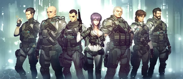 Ghost in the Shell Online se basa en la serie de anime Stand Alone Complex.