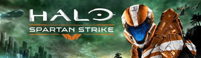 Halo Spartan Strike aterriza con acción Halo con vista cenital.