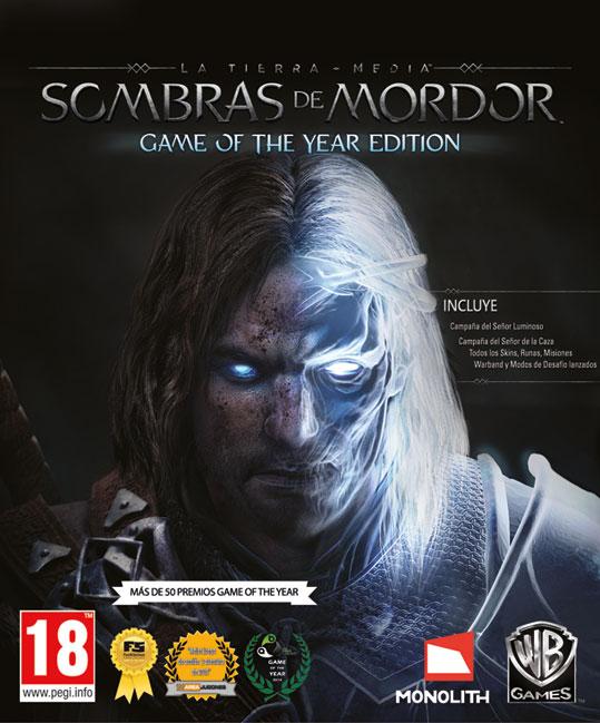 La edición GOTY de Sombras de Mordor llega el 5 de mayo.