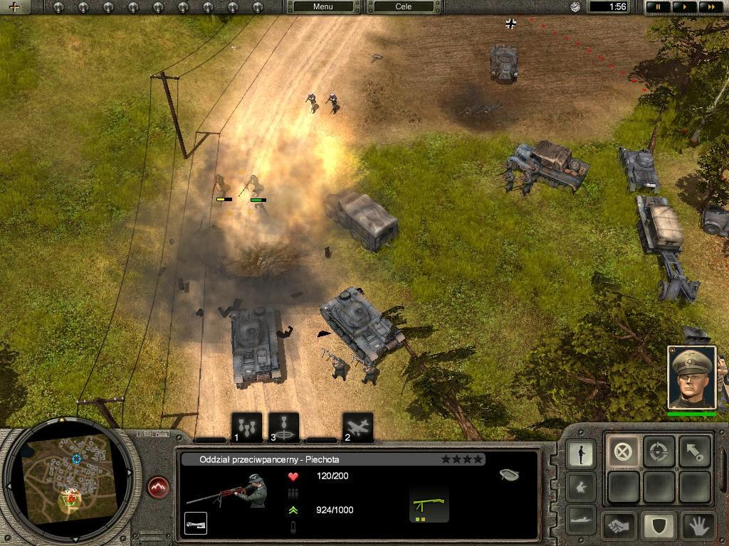 Codename Panzers - Stormregion, CDV