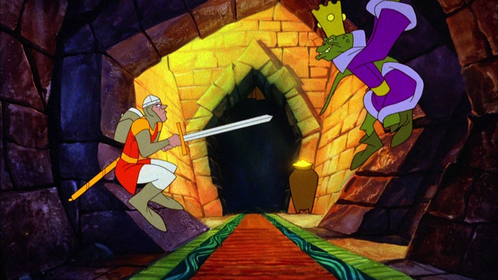 Dragon's Lair - Advanced Microcomputer, Cinematronics 3DO, DOS, CD-i, Jaguar, Mac, SEGA CD, Windows