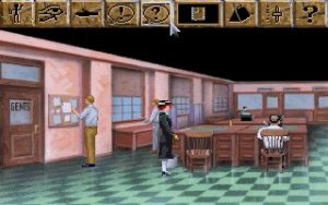 Laura Row - The Dagger of Amon Ra - Sierra - DOS, Windows