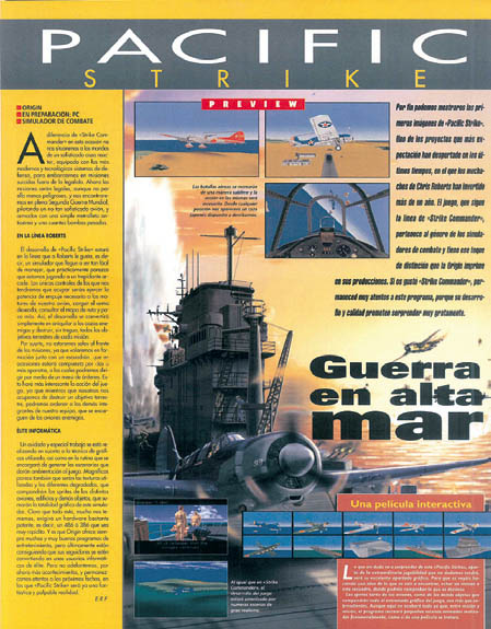 MICROMANIA 73 - Preview Pacific Strike