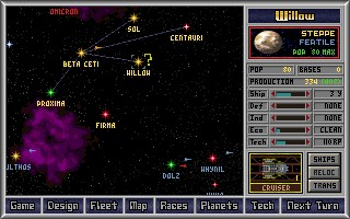 Master of Orion - SimTex, MicroProse - DOS, Mac