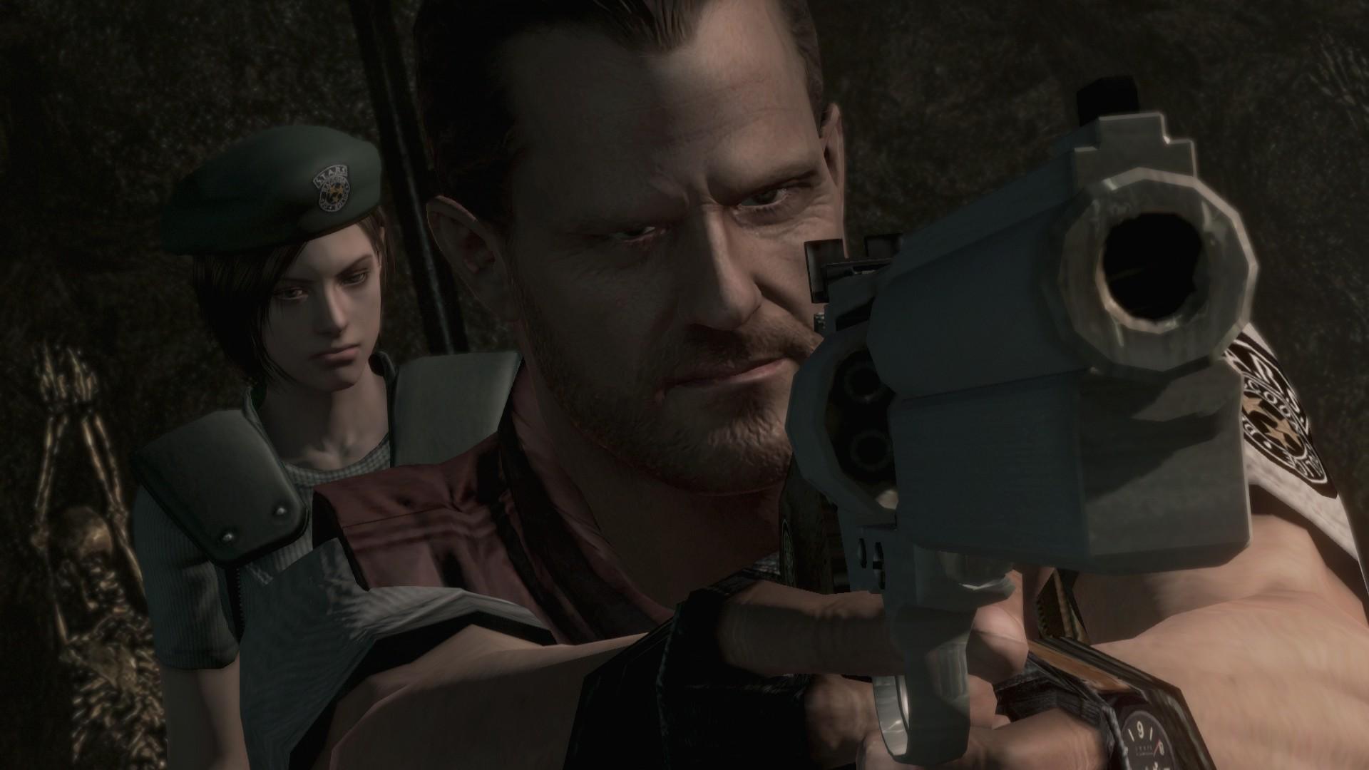 El doblaje de Jill y de Barry era particularmente malo, pero el de Wesker es que era algo impresionantemente ridículo. Qué mal lo hacía.