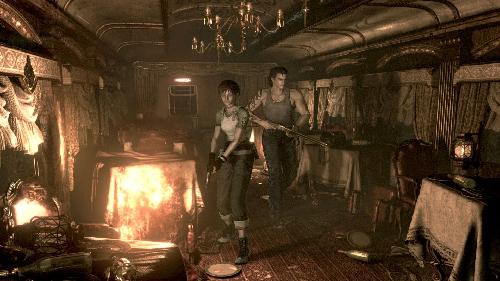 Resident Evil Zero se remasteriza