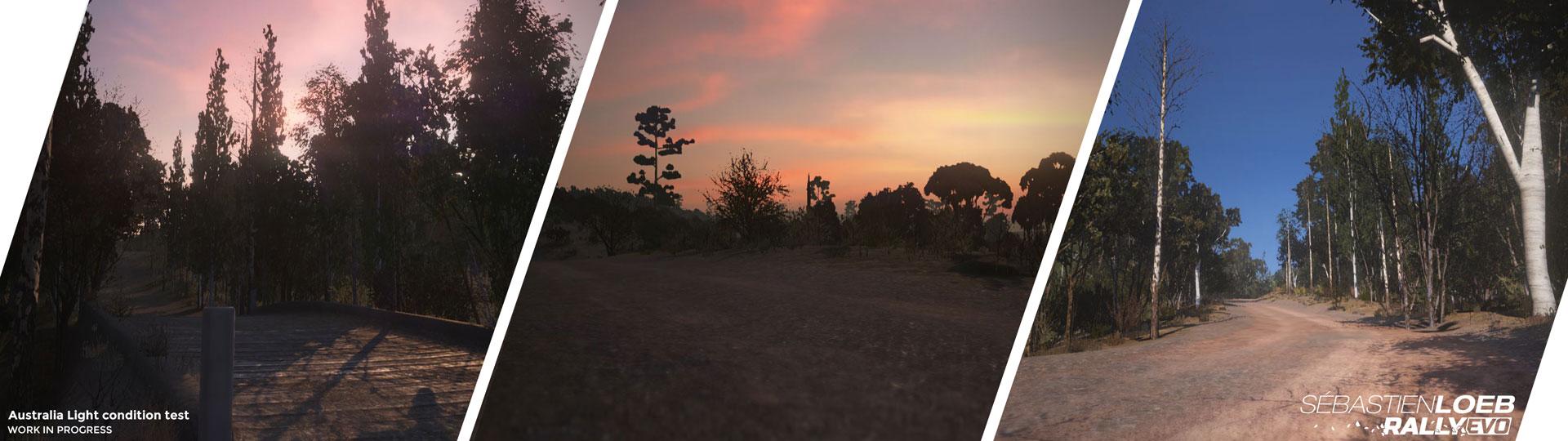 Sebastien Loeb Rally, iluminación en Australia
