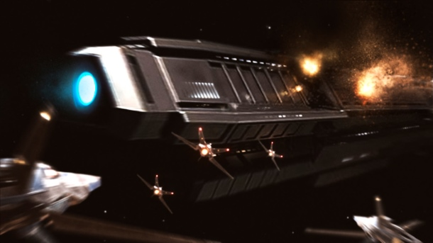 Starfighter es un juego de combate espacial con inspiración Lucasiana.
