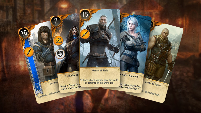 gwent the witcher 3