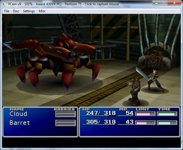 PCem es capaz de ejecutar juegos de finales de los 90 con un gran rendimiento.