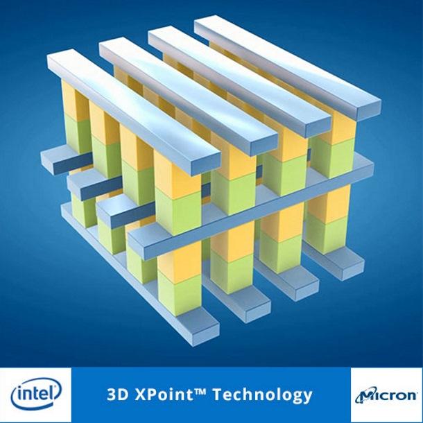 Intel y Micron revolucionan la memoria de estado sólido con 3D XPoint.