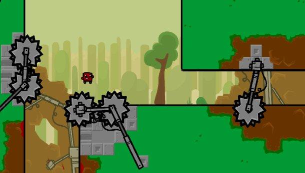 Super Meat Boy Forever es una versión renovada del popular juego de plataformas indie del Team Meat.