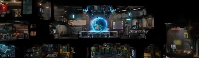 ¿Te imaginas controlar la base de XCOM 2 con un casco de RV a lo Minority Report?