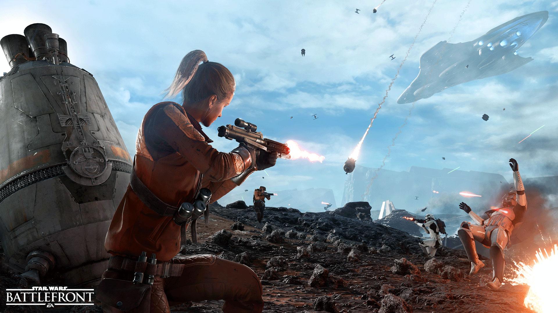 El modo Área de Cápsulas estará disponible en la beta de Star Wars Battlefront que se lanzará este octubre en PC.