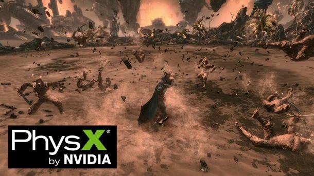 Nvidia mantiene con mimo un controlador para versiones viejas de PhysX.