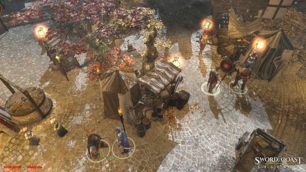 Sword Coast Legends es un juego de rol sencillo, moderno y un poco caro.