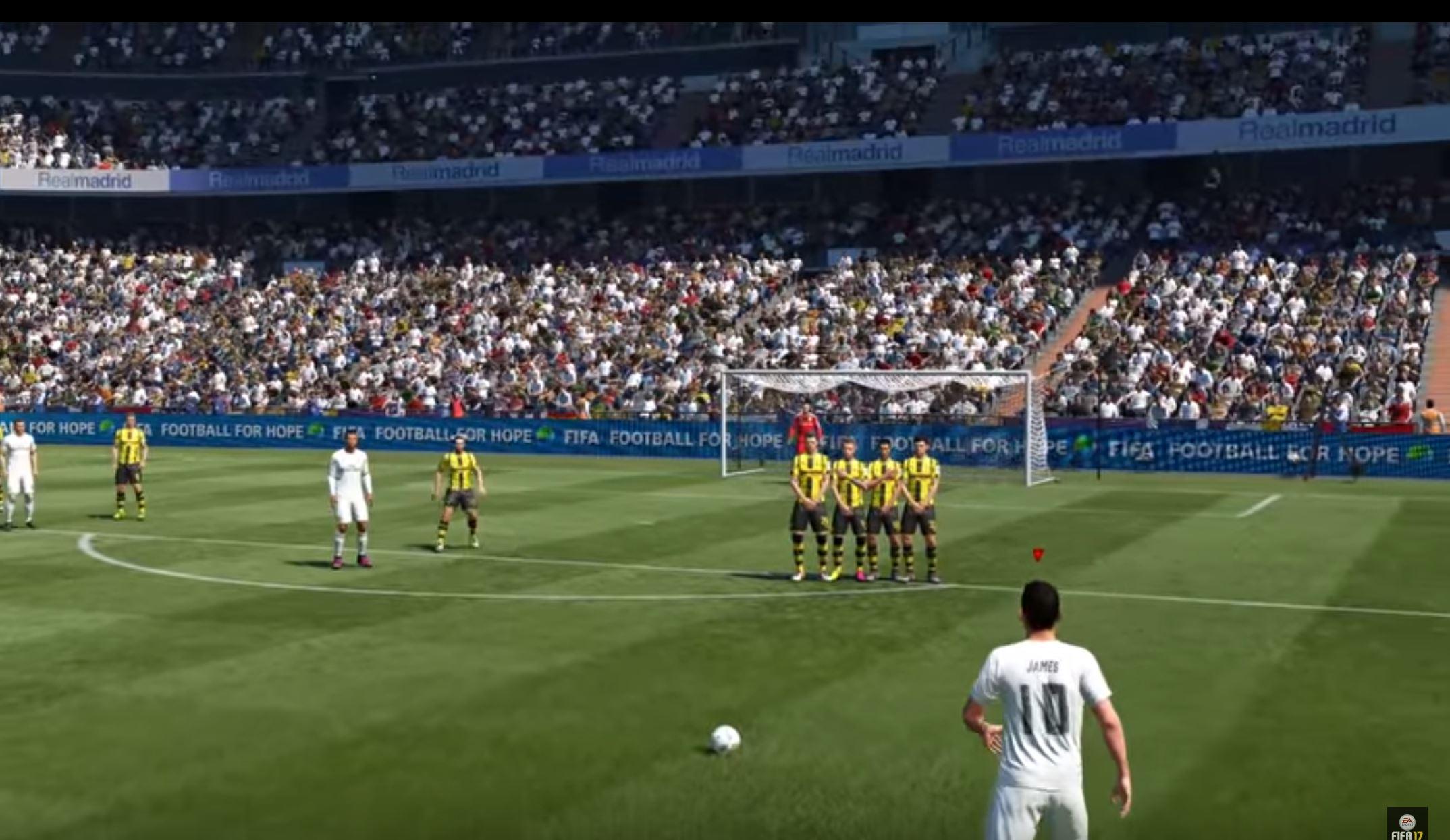 tráiler con novedades de FIFA 17