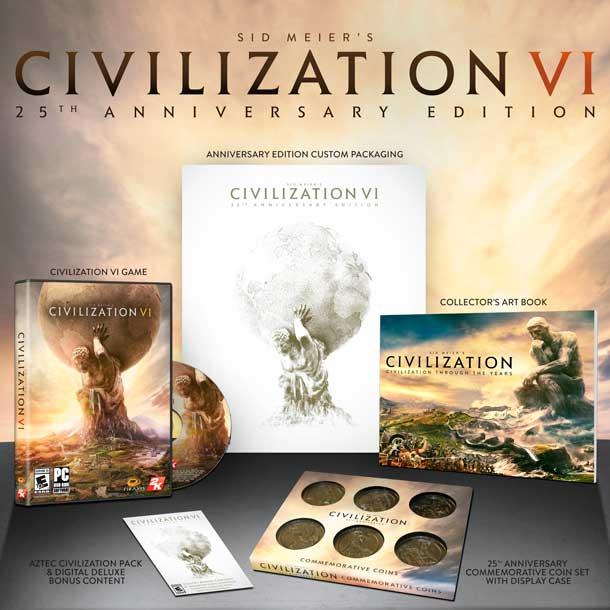 Edición 25 Aniversario de Civilization VI