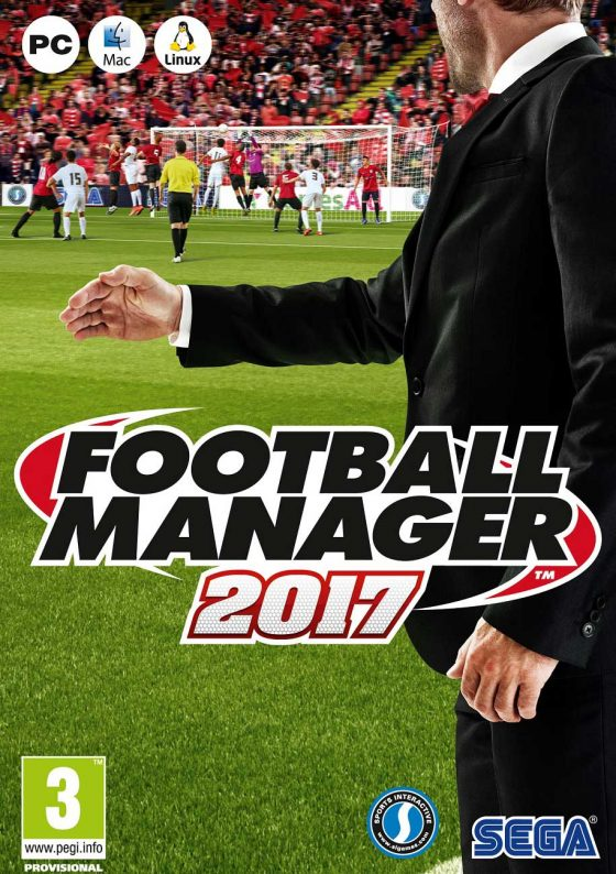 caratula de Football Manager 2017