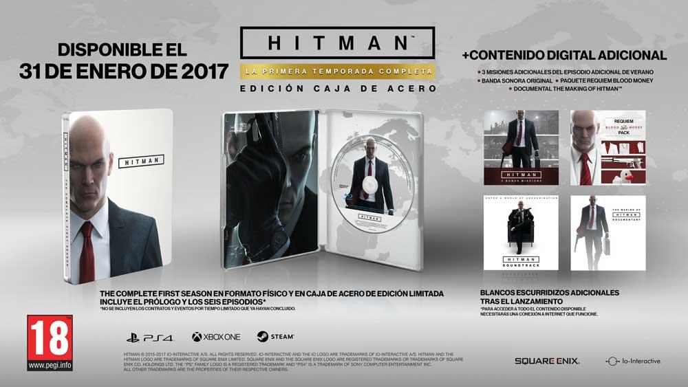 edición física de Hitman