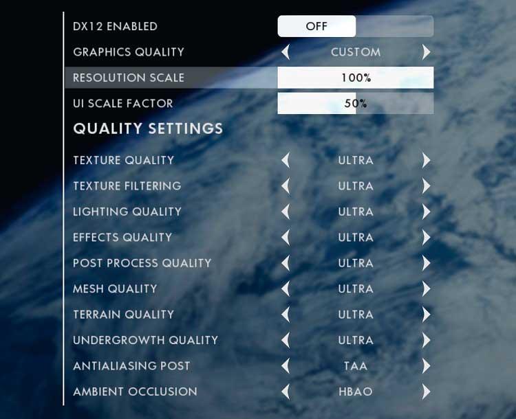 beta de Battlefield 1 ajustes graficos