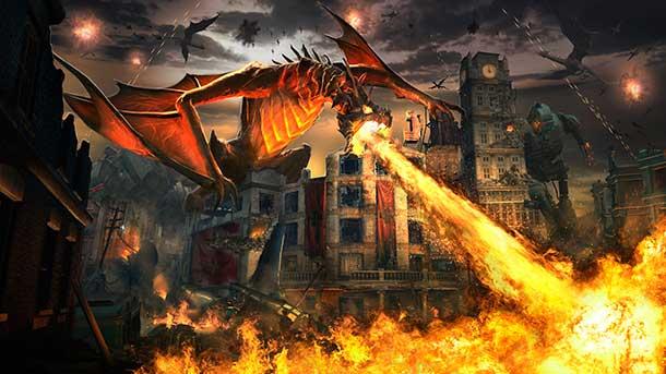Dragón en Pack Descent COD Black Ops III