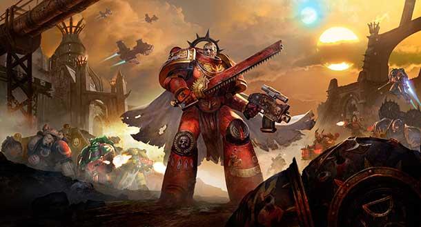 Warhammer 40.000 Eternal Crusade soldado con motosierra