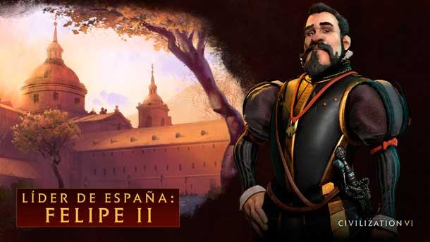 Felipe II y el Reino de España en Civilization VI