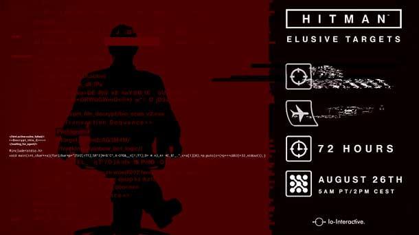 objetivo escurridizo de Hitman