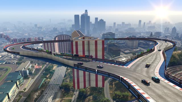 carreras acrobáticas de GTA Online