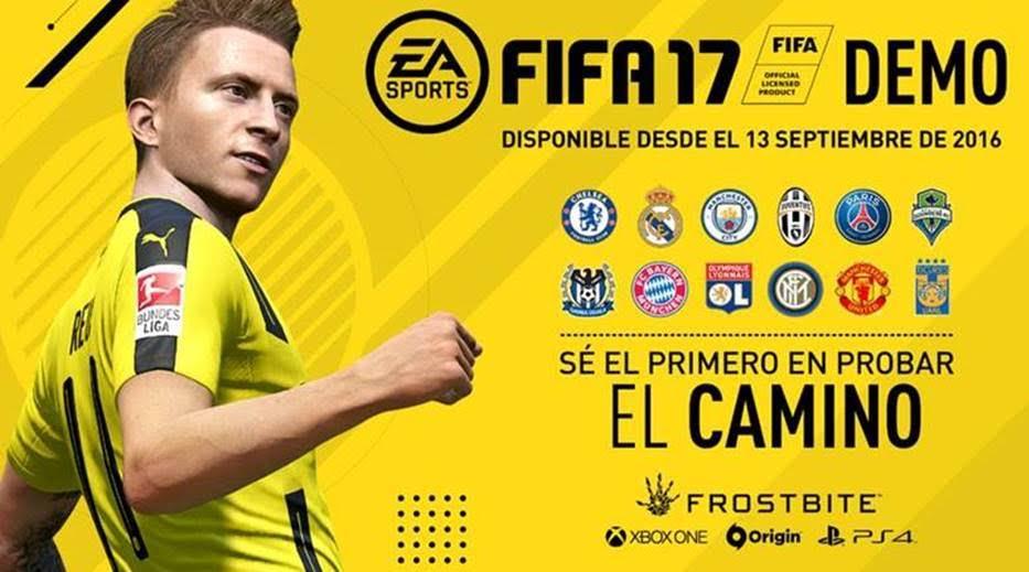 demo de FIFA 17 para PC