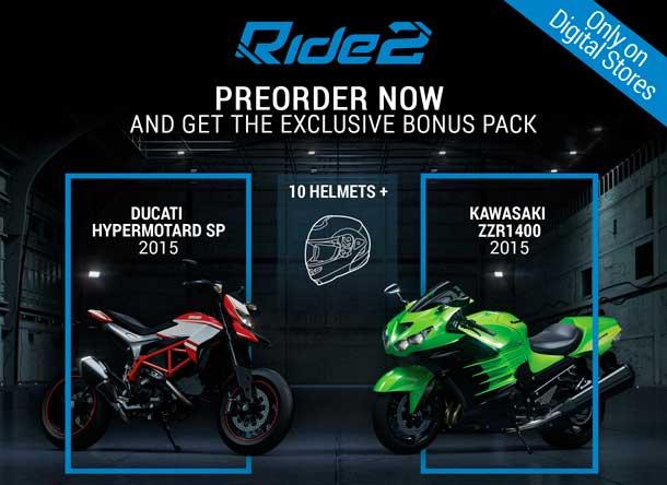 listado de motos de Ride 2
