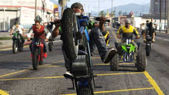 motos en GTA Online