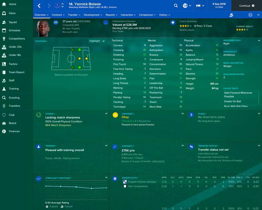Football Manager 2017 ya está a la venta