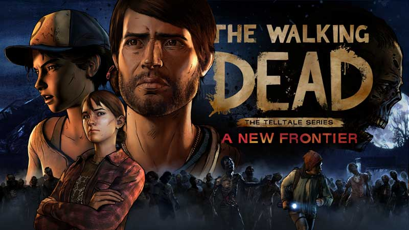 Carátula de The Walking Dead A New Frontier