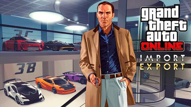 Importaciones y exportaciones de GTA Online