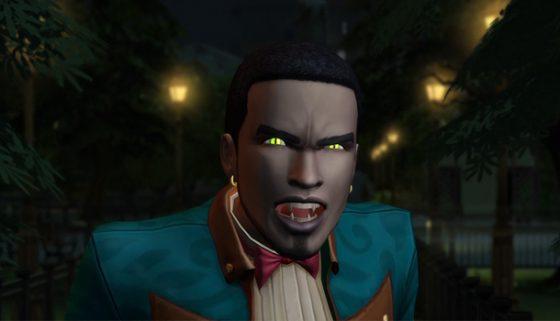 Vampiros en Los Sims 4(cuatro) a partir de este mes.