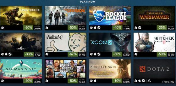 más vendidos en Steam