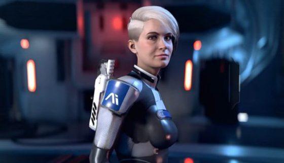 Los compañeros de Mass Effect Andromeda se muestran al detalle, literalmente.