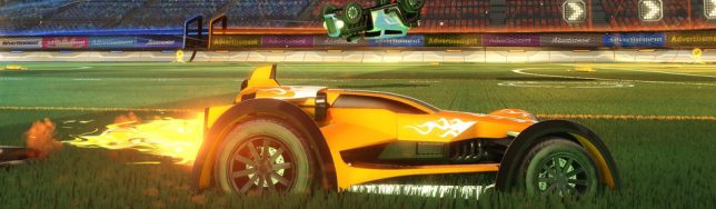 Los dos coches de Hot Wheels para Rocket League.