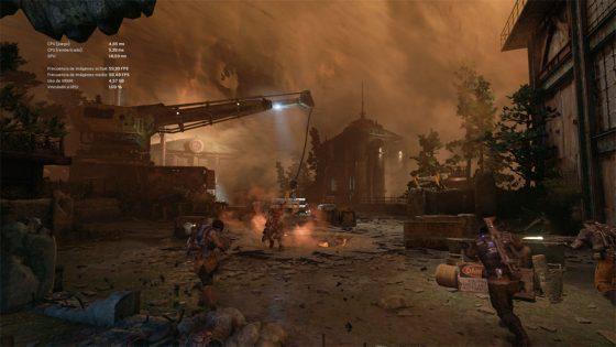 Gears of War 4 con GTX 1080 Ti