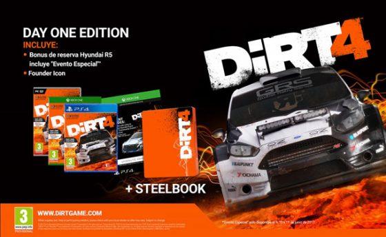 ¿Qué te parecen las ediciones de lanzamiento de Dirt 4?