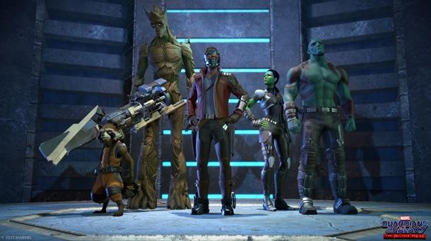 Capturas de Guardianes de la Galaxia: el equipo completo para la primera temporada.