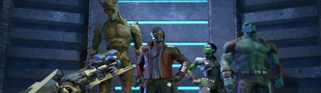 Primeras imágenes de Guardianes de la Galaxia de Telltale Games