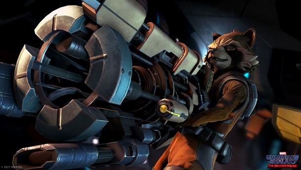 Capturas de Guardianes de la Galaxia: Rocket continuará haciendo de las suyas.